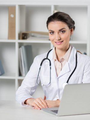 Médica empreendedora