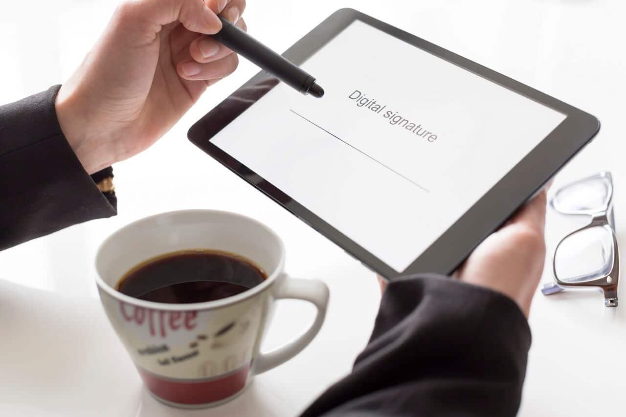assinatura digital advogado